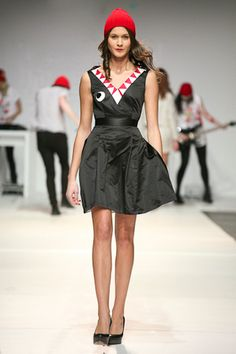 Ok just discovered The Rodnik Band and I'm in LOVE. Shark dress *chomp*
