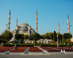 Blue Mosque.First decade of 17th century.One of the most important spots in the town.A must visit!!