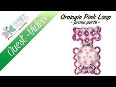 Orologio Pink Loop | TUTORIAL - HobbyPerline.com - YouTube