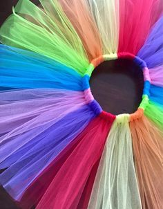 2e8e9c61564a8 Girls Rainbow tutu-Baby girl tutu skirt-baby rainbow tutu-toddler rainbow  tutu-Rainbow birthday party-1st birthday outfit-brightly colored