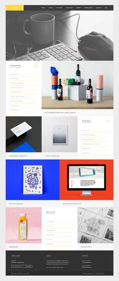 The Design Blog - New Website Concept by Ena Baćanović - http://drbl.in/lKrO