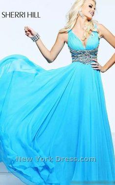 blue flowing sky dress - Google Search