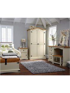 Corona Painted 2-Door Wardrobe   very.co.uk                                                                                                                                                                                 More