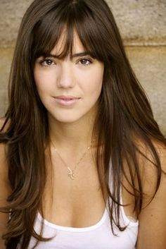 bangs with long layered hair - Google Search