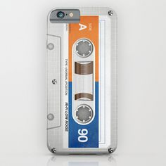 a Cassette tape! vintage, retro and very memorable.