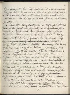 W. Somerset Maugham's manuscript for Of Human Bondage, 1914.