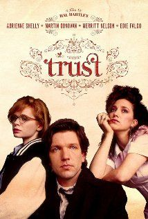 Trust [Blu-ray]: A pregnant high-school dropout meets a moody electronics genius who carries a hand grenade, just in case. Film Poster Design, Movie Poster Art, Adrienne Shelly, Hal Hartley, Trust, Cinema, Internet Movies, Married Woman, Best Tv