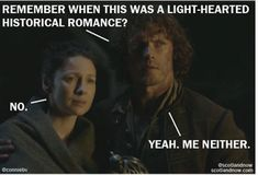 Outlander Recap season 2 Episode 10 - Prestonpans - Scotland Now... Baaaahhh!!!!! I really wish it were like this meme!!!!