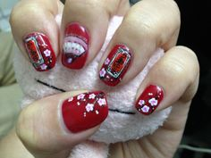 chinese new year nails.