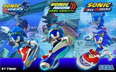 Sonic Riders Trilogy Hedgehog Movie, Sonic The Hedgehog, Tokyo Ghoul, Back To The Future Tattoo, Sonic Free Riders, Nintendo Sega, Eggman, Evil Geniuses, Best Pal