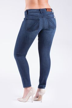 """Barbell Apparel: slim athletic fit. Jeans for those with big thighs and glutes! """"Cuz nobody ever made a song about a small butt""""."""