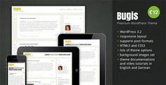 Bugis WordPress Theme