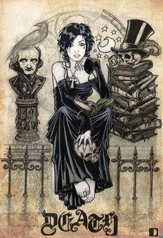 Twitter / SandmanBrasil: Celebrate Edgar Allan Poe's ...