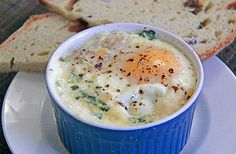 Baked Eggs and Irish Bangers