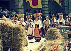 "The ""Canestrelle"" Festival, Amandola, Le Marche"
