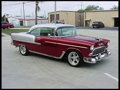 '55 Chevrolet Bel Air w/ 502 Big Block Power. Awesome American Muscle Machine!