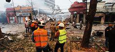 Explosão destrói vários imóveis no Rio de Janeiro e deixa feridos