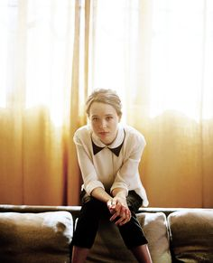 """""""Our society is obsessed with finding good and finding evil, but I think we're all capable of anything."""" Ellen Page"""