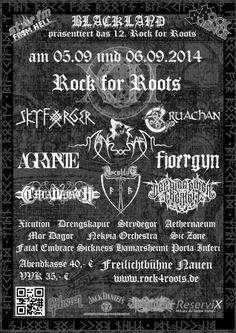 New-Metal-Media der Blog: News: Rock for Roots verkündet Running Order #news #metal #festival
