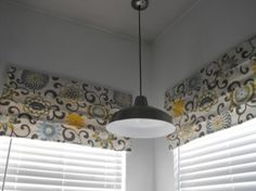 Love the faux roman shades and she has an easy tutorial. by annabelle