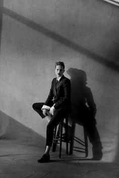 Anna Ewers por Peter Lindbergh para Vogue Alemanha Março 2015 [Editorial]
