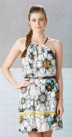 Vestido Flor de Verão II