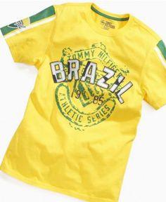 Tommy Hilfiger Kids T-Shirt, Boys Country Tees - Kids Boys 8-20 - Macy's
