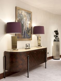 A bespoke sideboard created by Black & Key for a client's property.