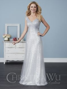 Bridesmaid Dress 22754 by Christina Wu Celebration - Search our photo gallery for pictures of wedding bridesmaids by Christina Wu Celebration. Find the perfect bridesmaid with recent Christina Wu Celebration photos. Sequin Bridesmaid Dresses, Bridesmaid Dress Styles, Wedding Dresses, Bridesmaids, Wedding Dress Shopping, Bride Dresses, Wedding Attire, Formal Dresses, Formal Wear