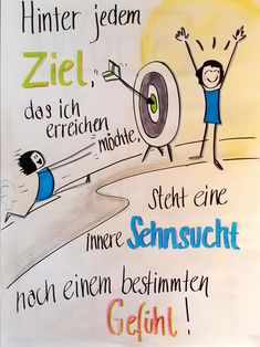 Ziele erreichen Goals in coaching are a central topic and should be well clarified between the coach Psychology Degree, Color Psychology, Systemisches Coaching, Psychology Experiments, Motivational Memes, Sketch Notes, Achieving Goals, Leadership, About Me Blog