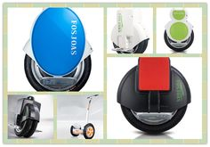 Each Generation of Fosjoas Intelligent electric Scooter from One Wheel to Double Wheel