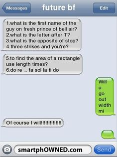 Haha. How to con ur way into a relationship. Well played.