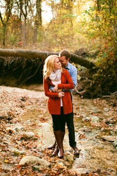 The most beautiful fall engagement session by Jennefer Wilson