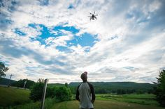 """Skyline Studio (@SkylineAerials) - Halifax, N.S.: We're jumping at an opportunity and pushing the boundaries of a market that hadn't been explored. In Nov, 2013, my business partner and I bought a small consumer grade UAV (""""drone""""). We started shooting photos and soon we were shooting photos/videos for high end real estate in the city. Since then we've movied into film production, commercial and residential development view planes, golf courses and even a few weddings."""