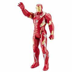 Boneco Eletrônico Titan Hero - Homem de Ferro - Hasbro