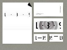 Studio Atelier à Propos identity for Lise Braun Collection