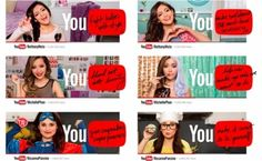 Well thought out and executed campaign.  YouTube To Run TV Ads For Michelle Phan, Bethany Mota, Rosanna Pansino.