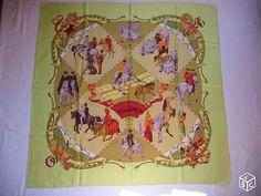 Authentique foulard HERMES Musée vivant du cheval Accessoires & Bagagerie Rhône - leboncoin.fr