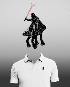 ポロ風ダースベイダーTシャツ (via Best T-shirt Ever! - Imgur) | Namidame links