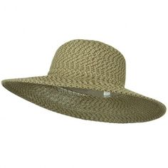 fcaac20bdaccb UPF 50+ 3 Tone Braid 4 inch Brim Self Tie Hat. Mens Sun ...