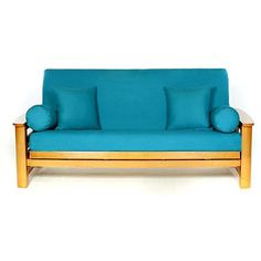 Lifestyle Covers Teal Full Size Futon Cover