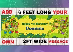 Train theme birthday banner Happy Birthday Train Banner