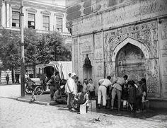 Tophane Meydan (1. Mahmud Han) Çeşmesi (~1920) #Beyoğlu #istanbul