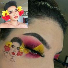 Crazy Eyeshadow, Eyeshadow Looks, Eyeshadow Makeup, Cute Makeup, Makeup Art, Makeup Goals, Makeup Tips, Disney Eye Makeup, Baddie Makeup