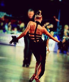 Fierce pose and I love the dress! - Latin Dance - Ballroom