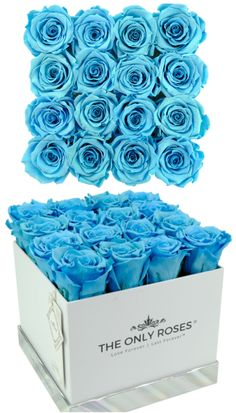 Our Huggy Square Box takes our signature arrangement and makes it even more stunning with a tall, sturdy box that shows off our preserved roses. For that special someone in your life, give this perfect combination of luxury, romance, and beauty. Delight them with a gift that will last much longer than fresh-cut flowers. Our Everlasting Roses are guaranteed to maintain their natural appearance for at least a year. #roses #flowers #flower #love #rose #beautiful #garden #theonlyroses #roses