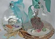 Clear Fillable Ball Christmas Ornament
