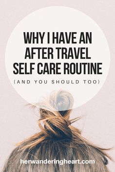 Every time I travel I come home feeling off. Don't get me wrong I love traveling, but I feel like I need to hit a reset button when I return home. I always notice I get home with tired skin a… Self Care Routine, Take Care Of Yourself, Traveling, Heart, Blog, Viajes, Blogging, Trips, Travel
