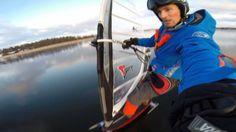 Hand held GoPro 2014. Iceboarding, Stockholm Sweden