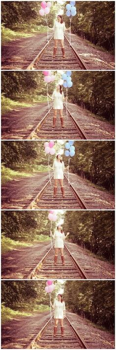 gender reveal photography